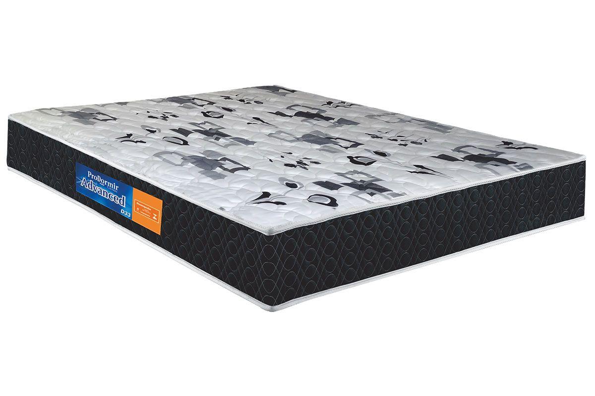 Colchão Probel Espuma D33 Advanced Mega Resistente ProDormirColchão King Size - 1,93x2,03x0,17 - Sem Cama Box