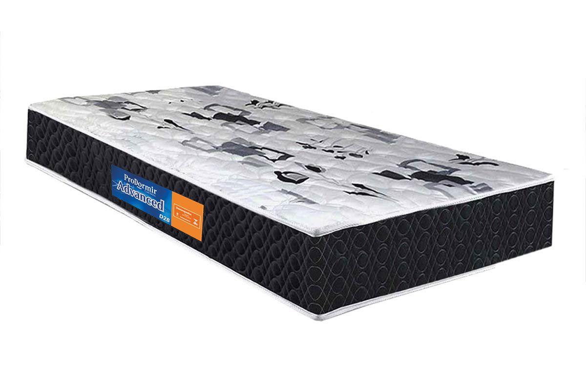 Colchão Probel D28 ProDormir Advanced Ultra ResistenteColchão Solteiro - 0,88x1,88x0,14 - Sem Cama Box