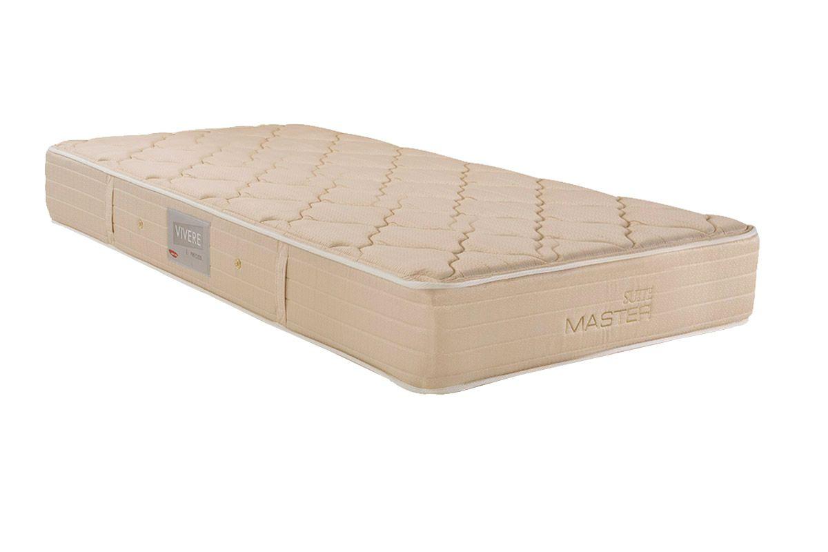 Colchão Herval Molas Bonnel Suite MasterColchão Solteiro - 0,88x1,88x0,25 - Sem Cama Box