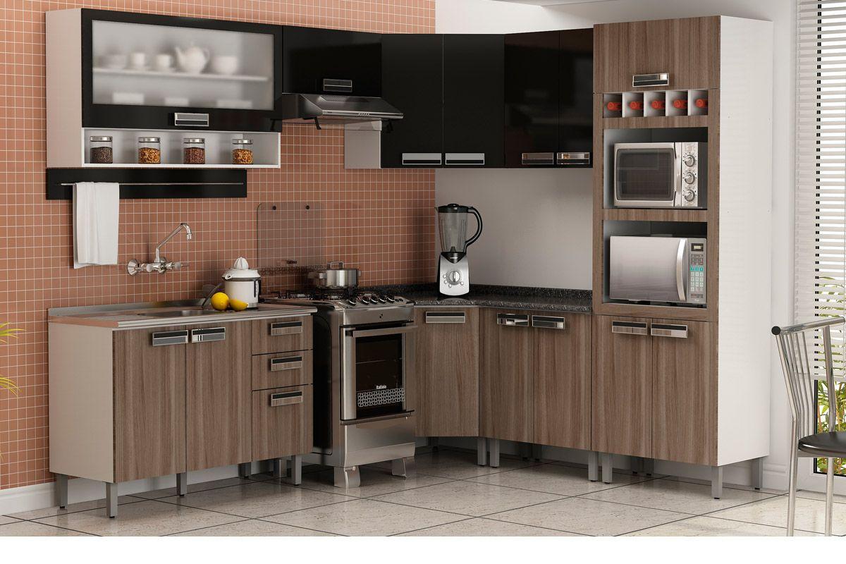 Armrio De Cozinha Itatiaia Madeira Simple Armrio Para Cozinha
