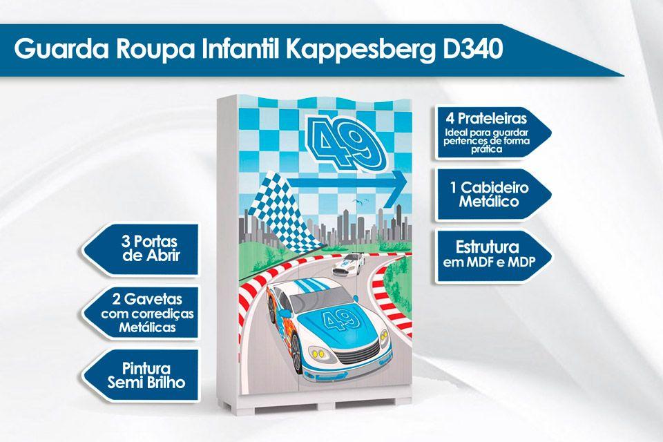 Roupeiro Kappesberg Dreams D340