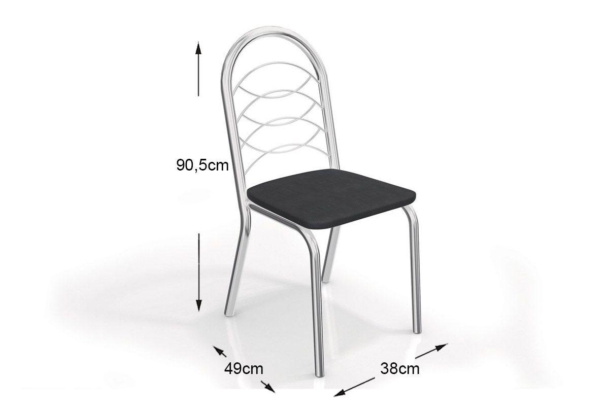 Caixa c/ 2 Cadeiras Kappesberg Holanda 2C009CR