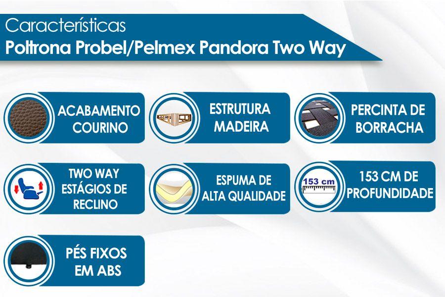 Poltrona Probel/Pelmex Mitus Two Way (Antiga França)