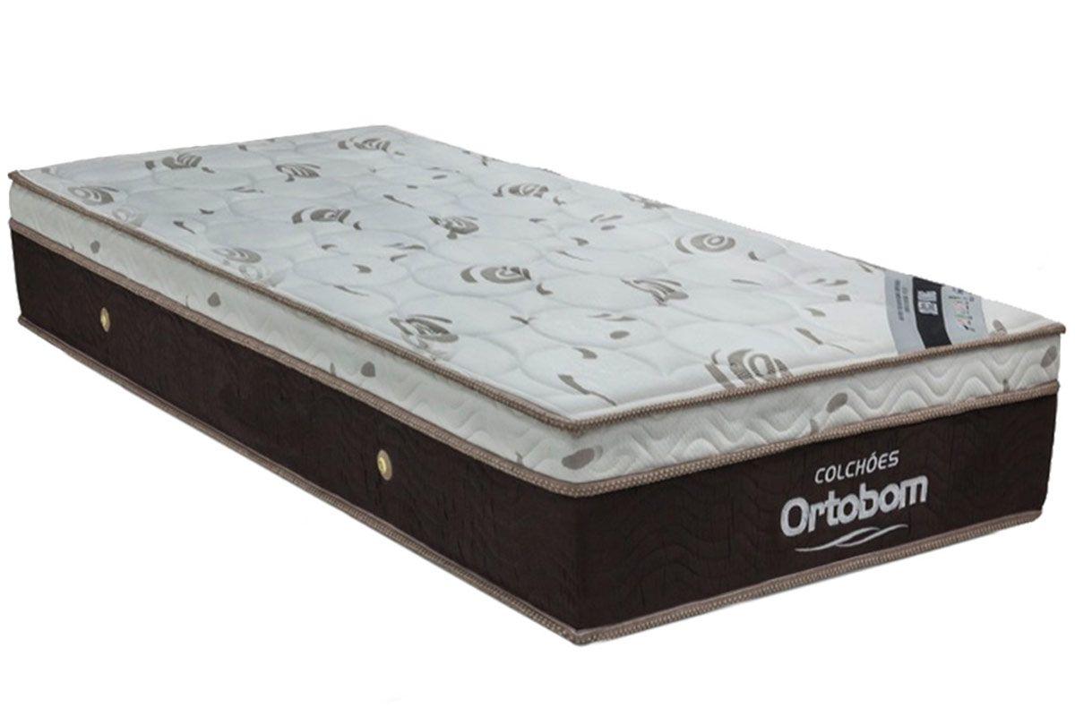 Colchão Ortobom Molas Pocket Sleep King LátexColchão Solteiro - 0,88x1,88x0,32 - Sem Cam Box