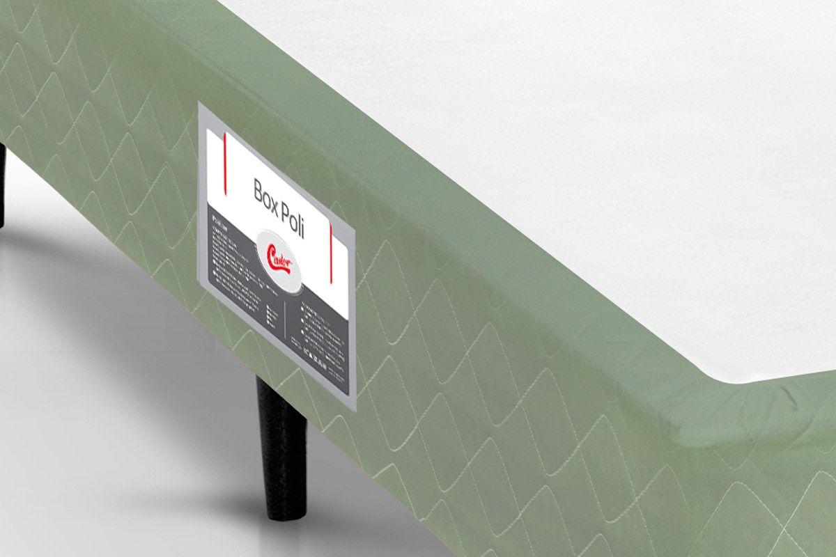 Cama Box Castor Poli Verde