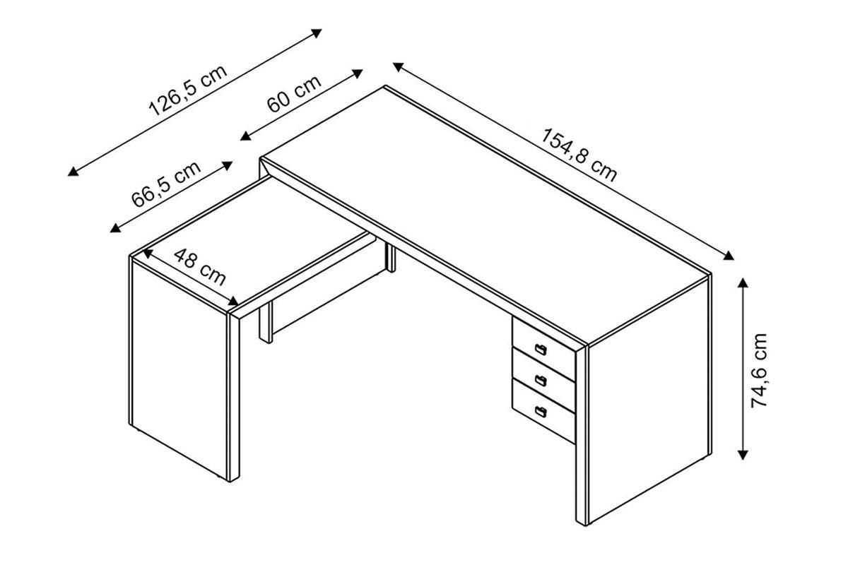 Mesa p/ Escritório Tecno Mobili ME-4106