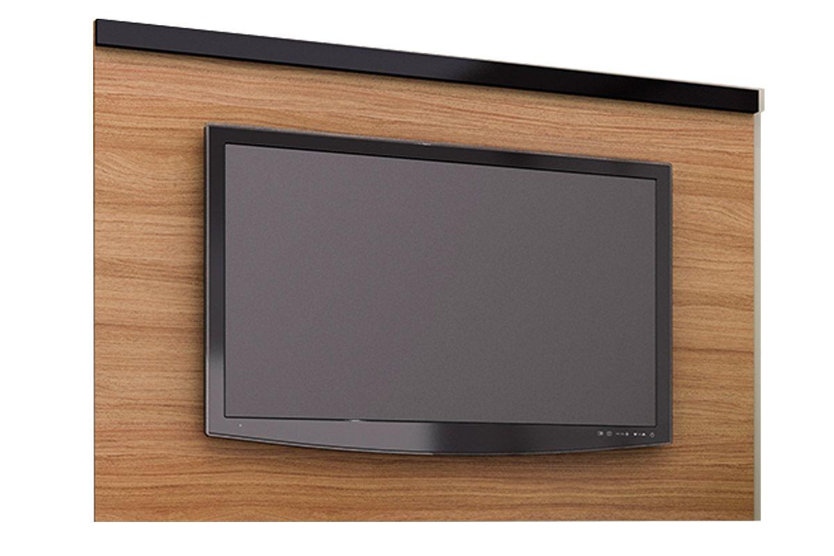 Painel para Tv Tecno Mobili PA-2906 p/ TVCor Amêndoa