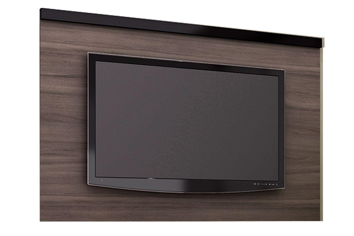 Painel para Tv Tecno Mobili PA-2906 p/ TVCor Carvalho