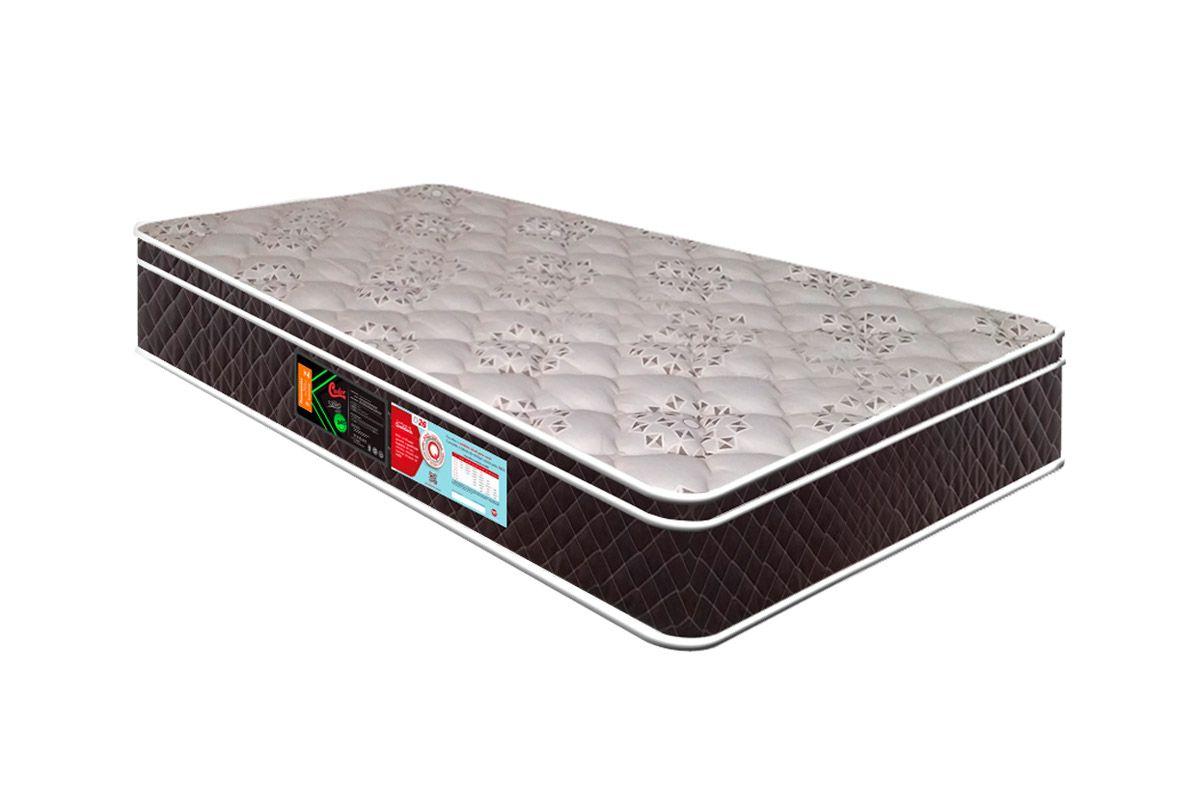 Colchão Castor Espuma D45 Sleep Max Euro (M.E) 25cmColchão Solteiro - 0,78x1,88x0,25 - Sem Cama Box