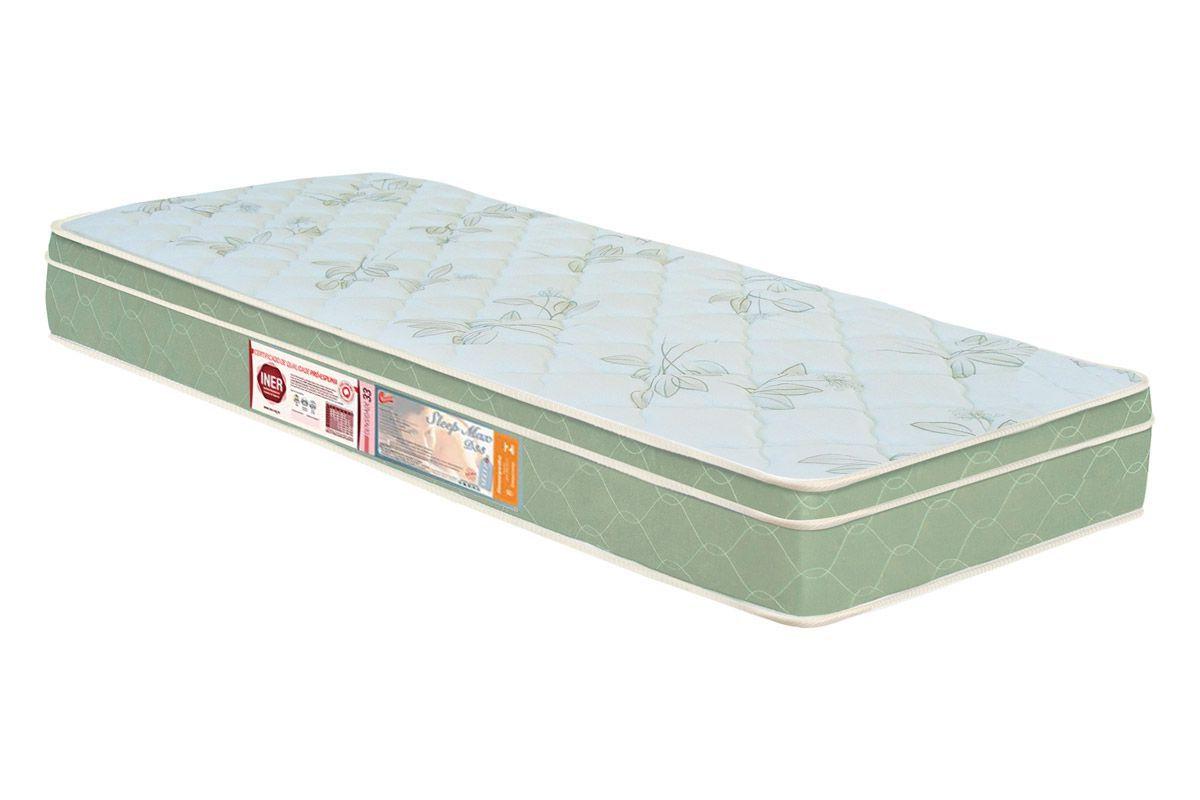 Colchão Castor Espuma D33 Sleep Max EuroColchão Solteiro - 0,78x1,88x0,25 - Sem Cama Box