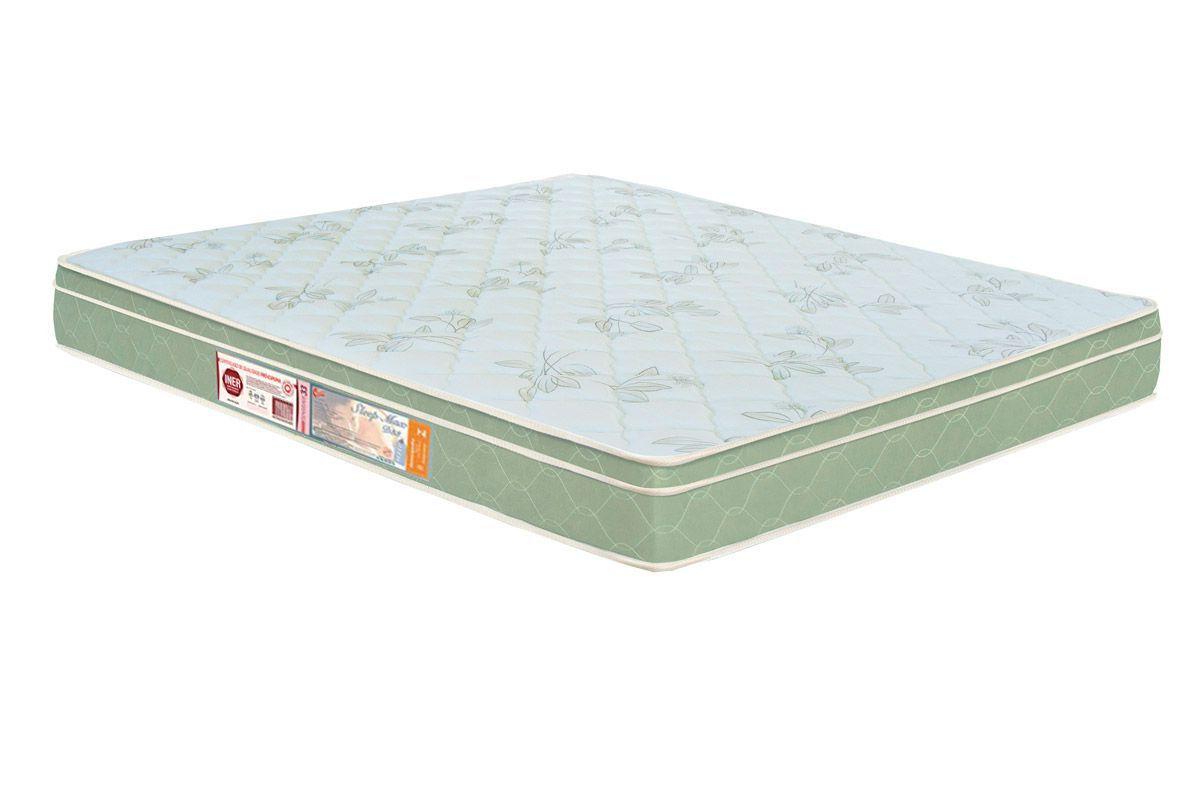 Colchão Castor Espuma D33 Sleep Max EuroColchão Casal - 1,38x1,88x0,25 - Sem Cama Box