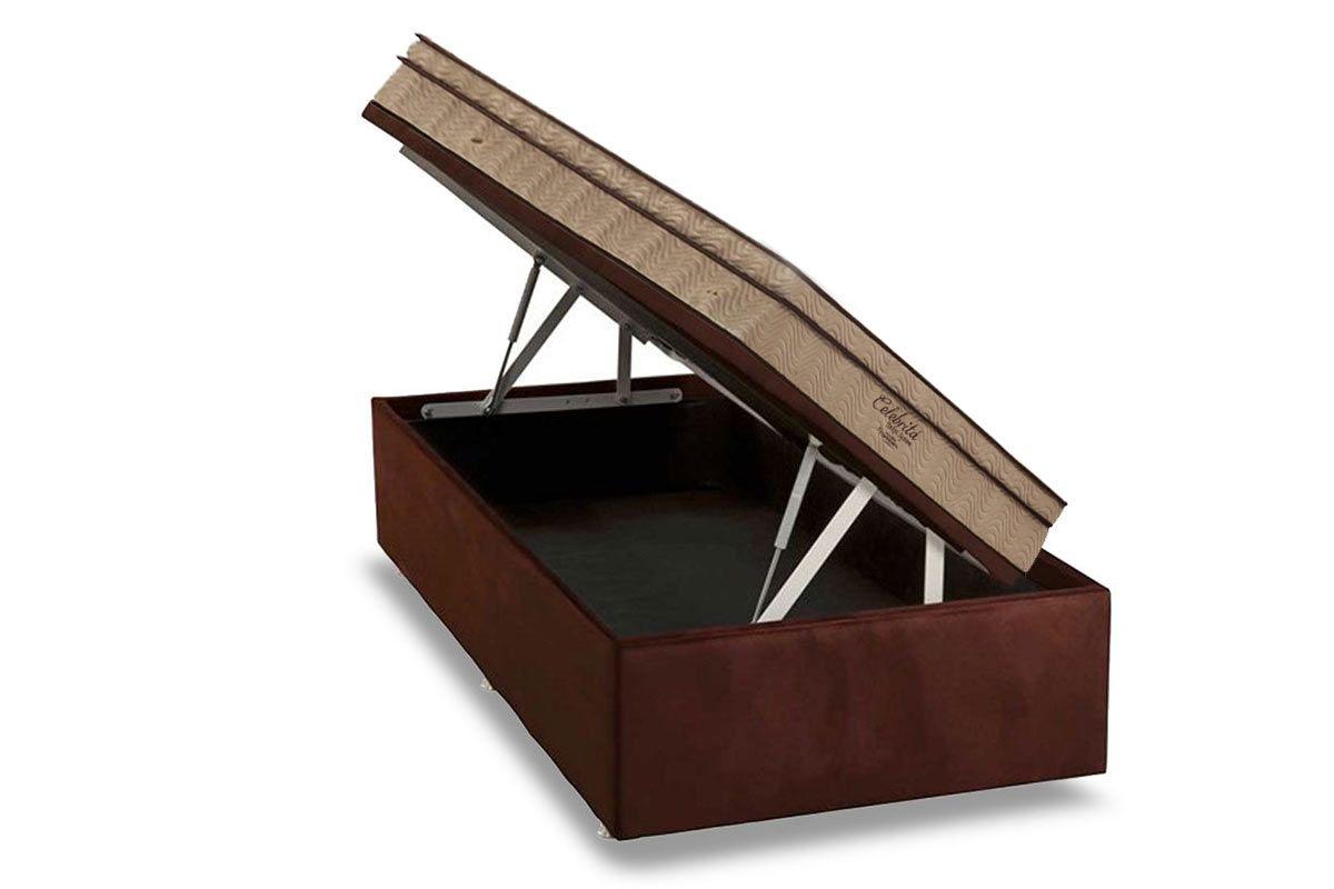 Conjunto Box Ba 250 Colch 227 O Ortobom Molas Pocket Celebrita