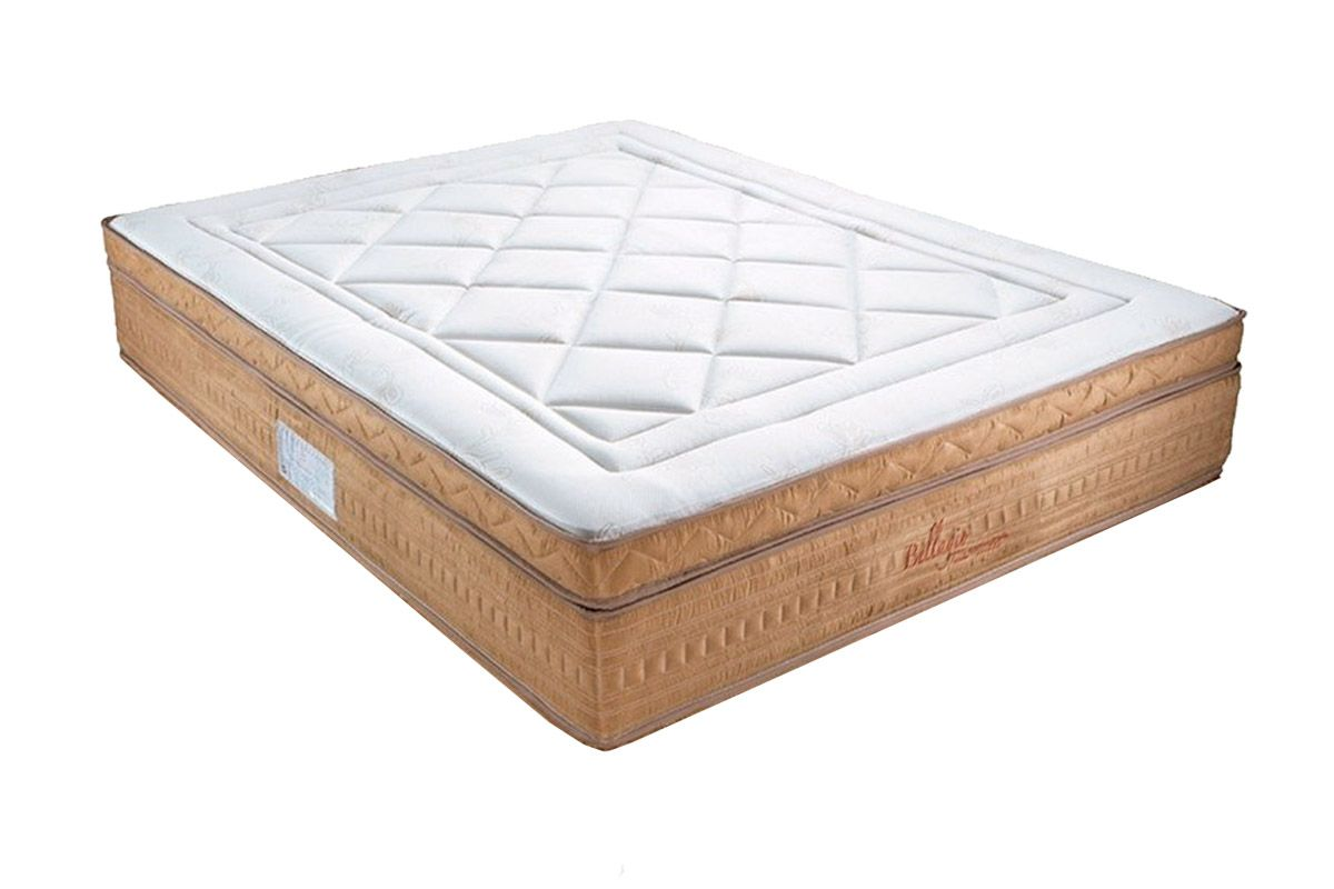 Colchão Orthocrin Molas Pocket Bellagio AvelãColchão King Size - 1,93x2,03x0,36 - Sem Cama Box