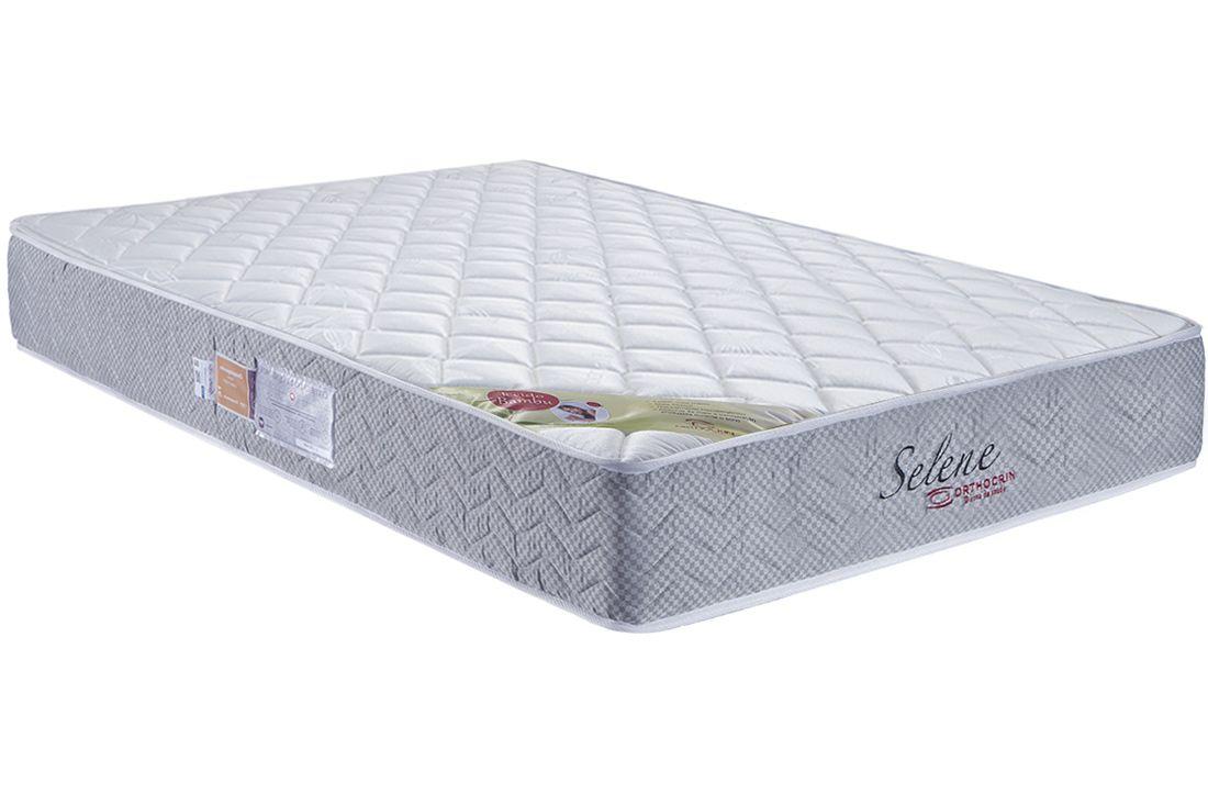Colchão Orthocrin Molas Superlastic Selene Plus Square BlackColchão Casal - 1,38x1,88x0,24 - Sem Cama Box