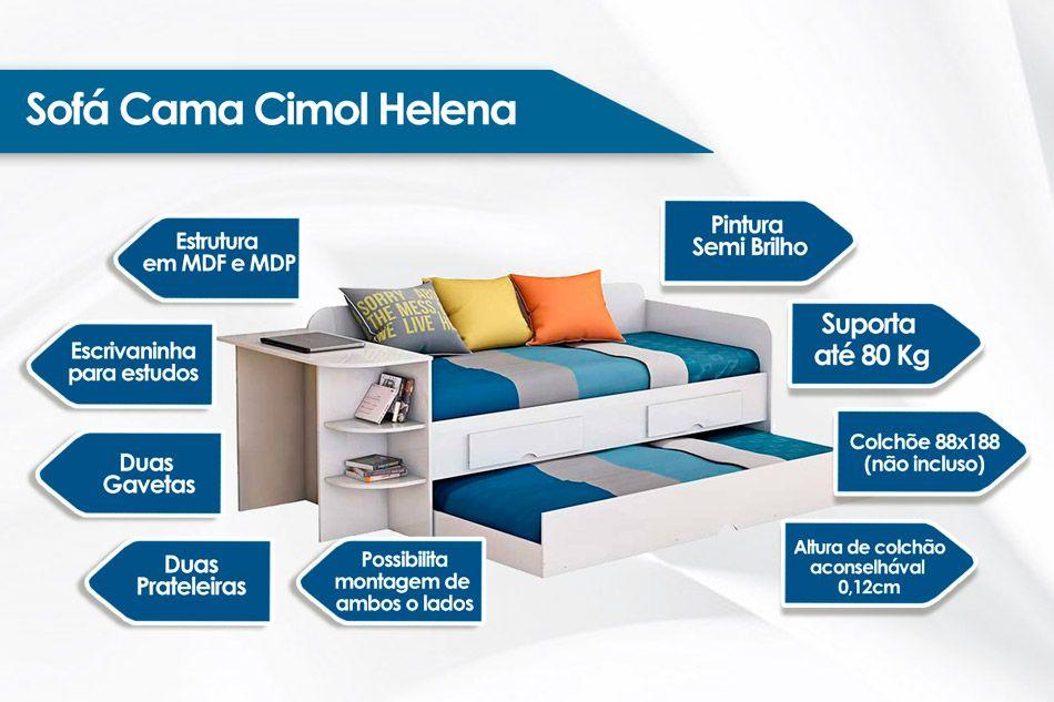 Sofá Cama Cimol Helena