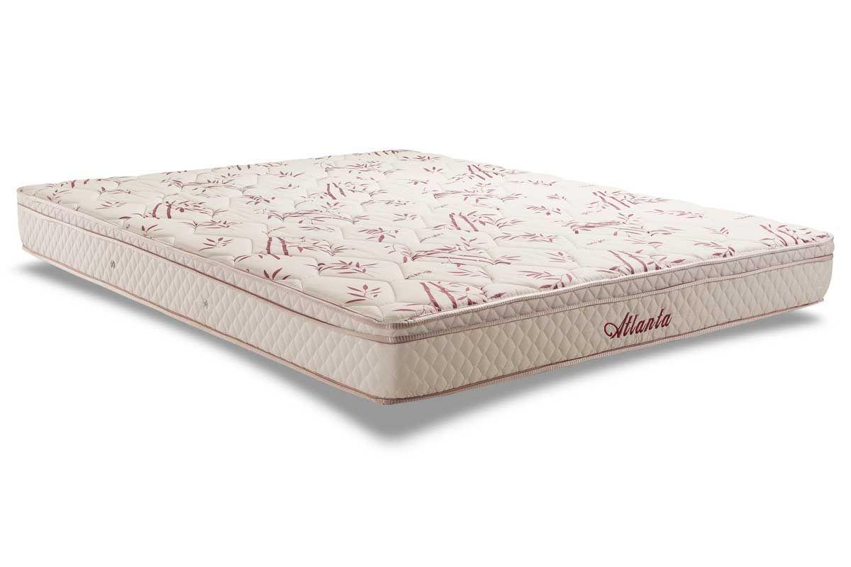 Colchão Herval Molas Bonnel AtlantaColchão Queen Size - 1,58x1,98x0,20 - Sem Cama Box