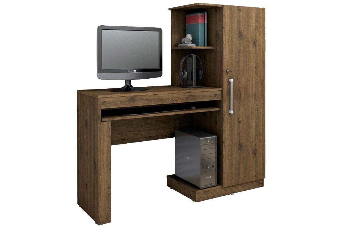 Escrivaninha Valdemóveis OfficeCor Castanho