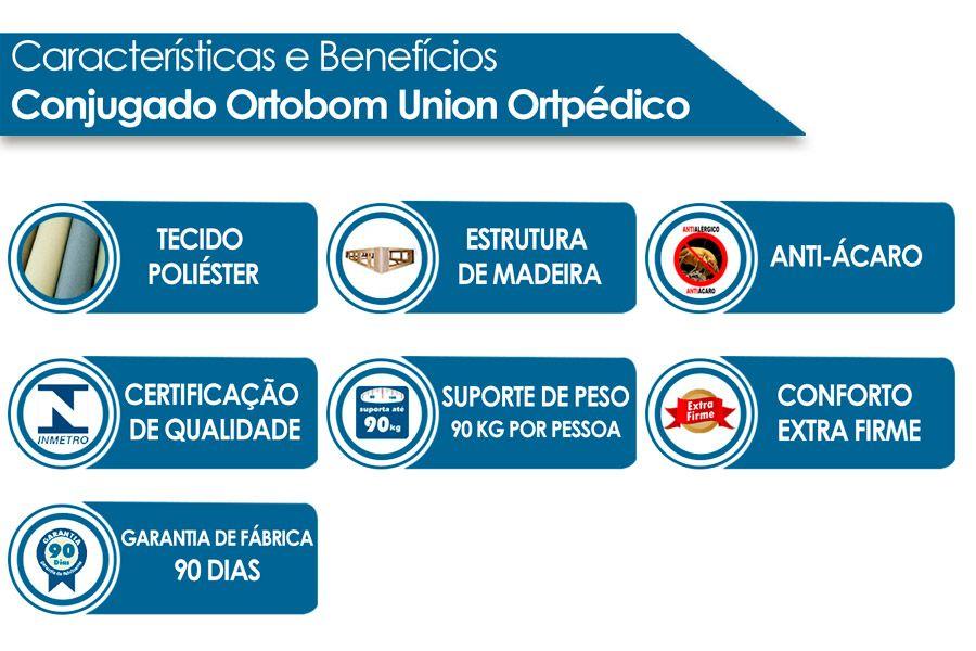 Conjugado Ortobom Union Ortopédico
