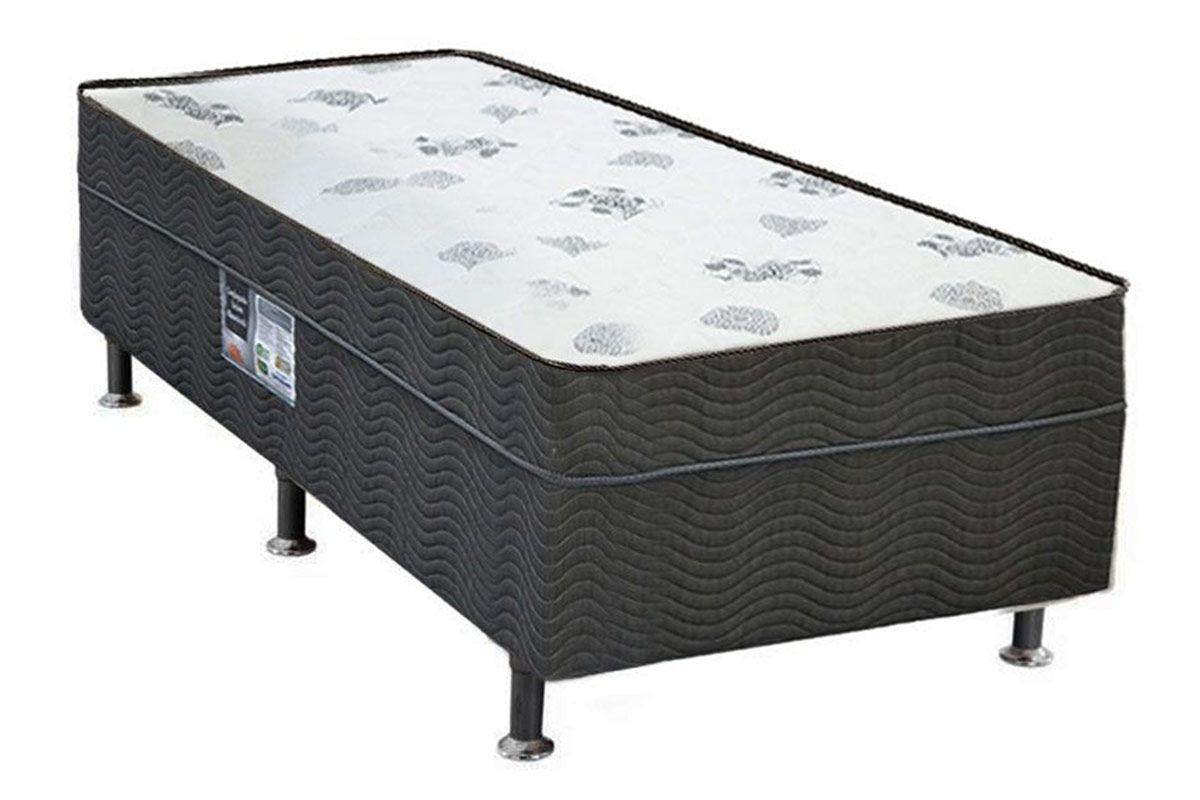 Conjugado Box Ortobom Molas Nanolastic Union SpringSolteiro  - 0,88x1,88