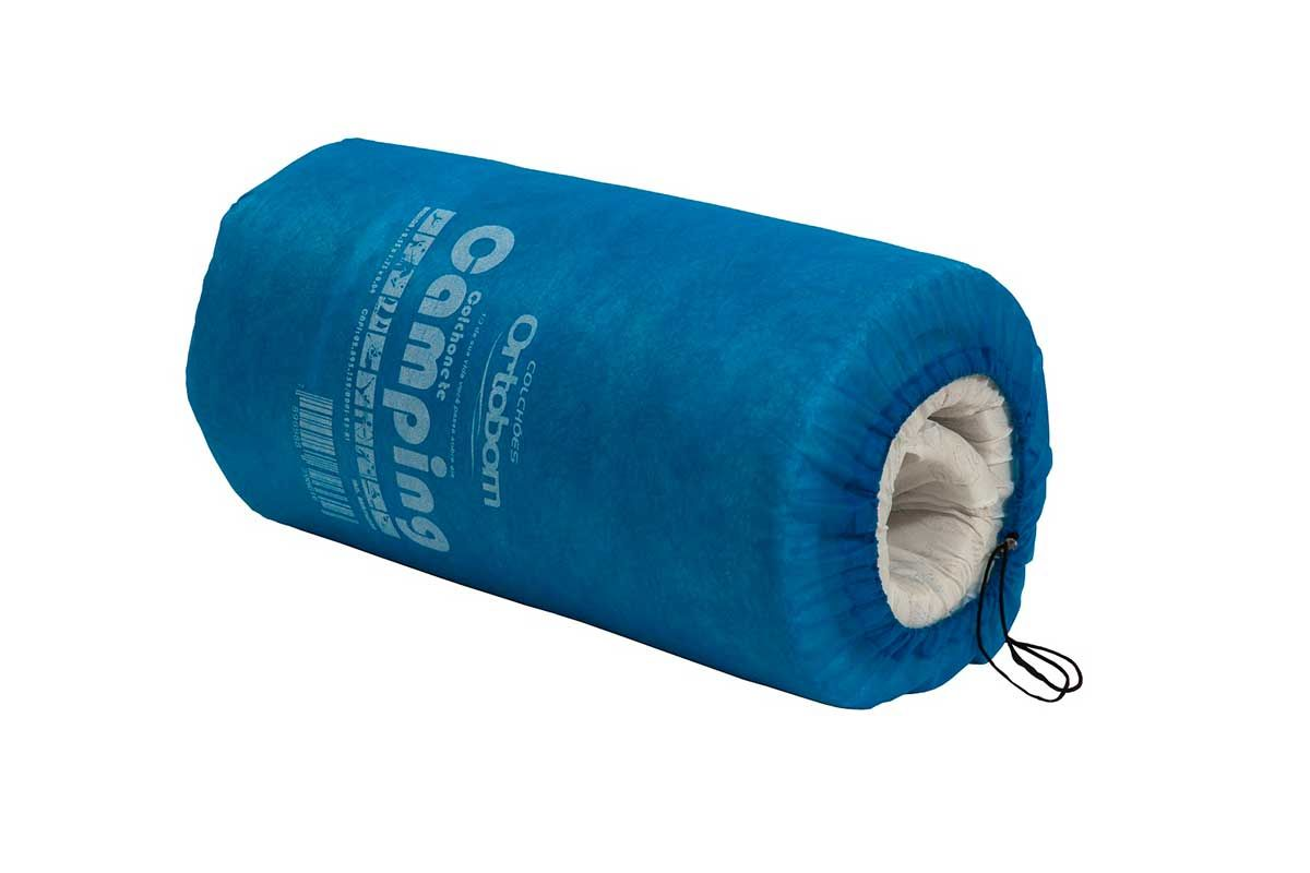 Colchonete Ortobom Camping Blue