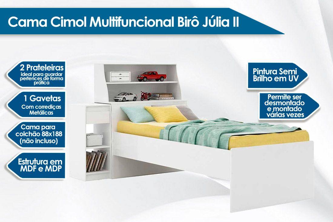 Cama Cimol Birô Julia II