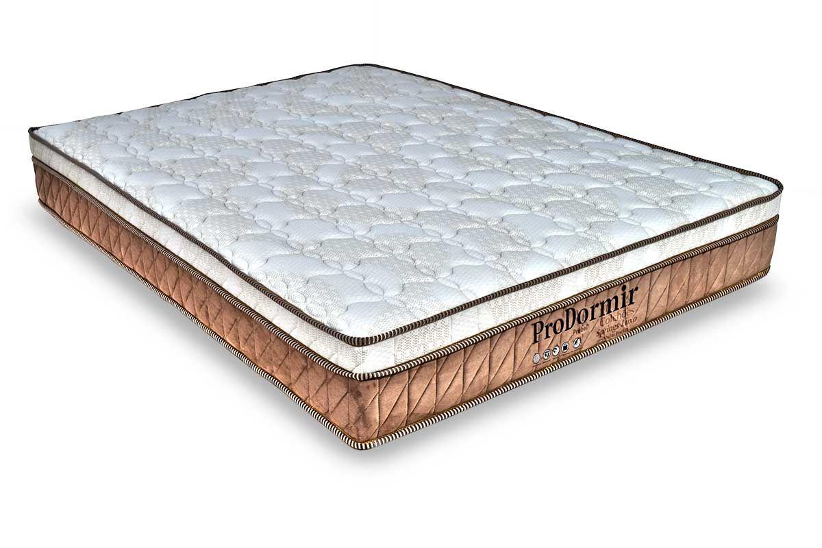 Colchão Probel Molas Pocket ProDormir Springs LuxoColchão Casal - 1,28x1,88x0,28 - Sem Cama Box