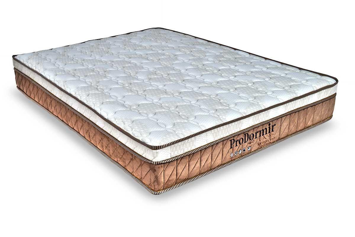 Colchão Probel Molas Pocket ProDormir Springs LuxoColchão Casal - 1,38x1,88x0,28 - Sem Cama Box