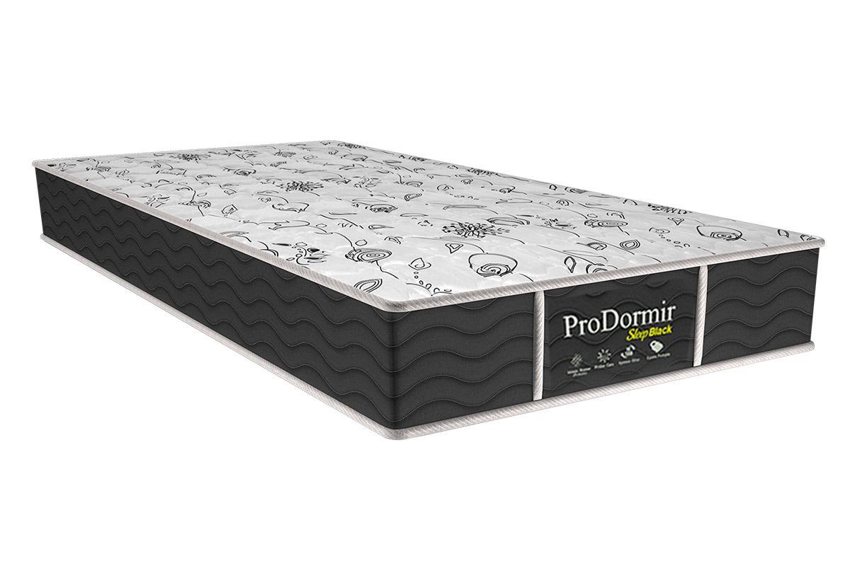 Colchão Probel Prolastic ProDormir Dark 26cmColchão Solteiro - 0,88x1,88x0,26 - Sem Cama Box