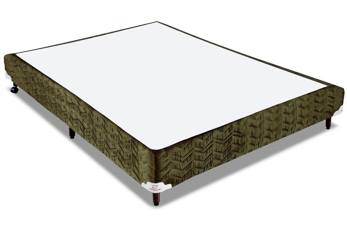 Cama Box Orthocrin Sommier Plus NatureCama Box Casal - 1,38x1,88x0,24 - Sem Colchão