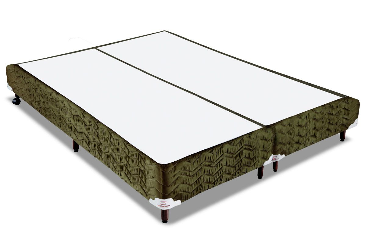 Cama Box Orthocrin Sommier Plus NatureCama Box Queen Size - 1,58x1,98x0,24 - Sem Colchão