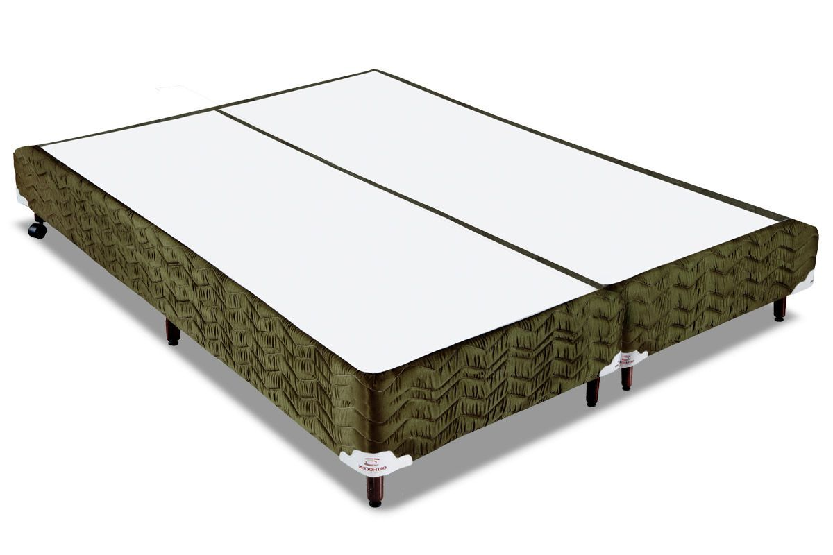 Cama Box Orthocrin Sommier Plus NatureCama Box King Size - 1,93x2,03x0,24 - Sem Colchão