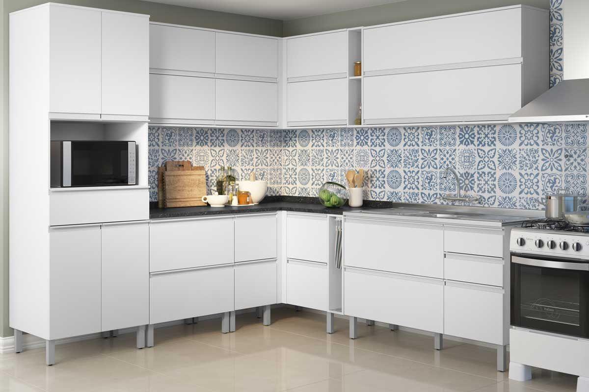 Gabinete de Cozinha Itatiaia Belíssima IGH2-70 Madeira Horizontal 2 Ptas s/Tampo