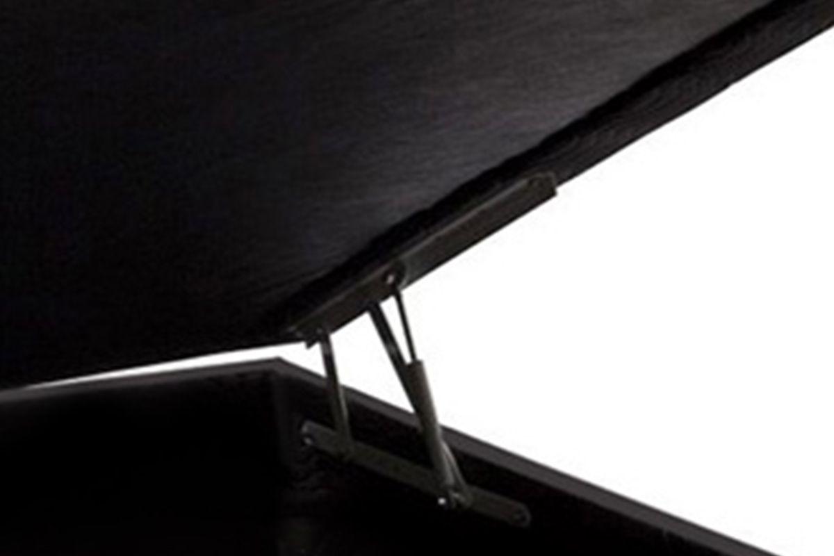 Cama Box Baú Ortobom Americana Courino Nero Black