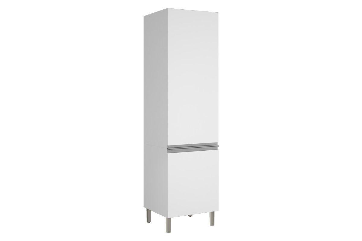 Paneleiro de Cozinha Itatiaia Clarice Aço IPLP-60 Profundo 2 PortasCor Branco