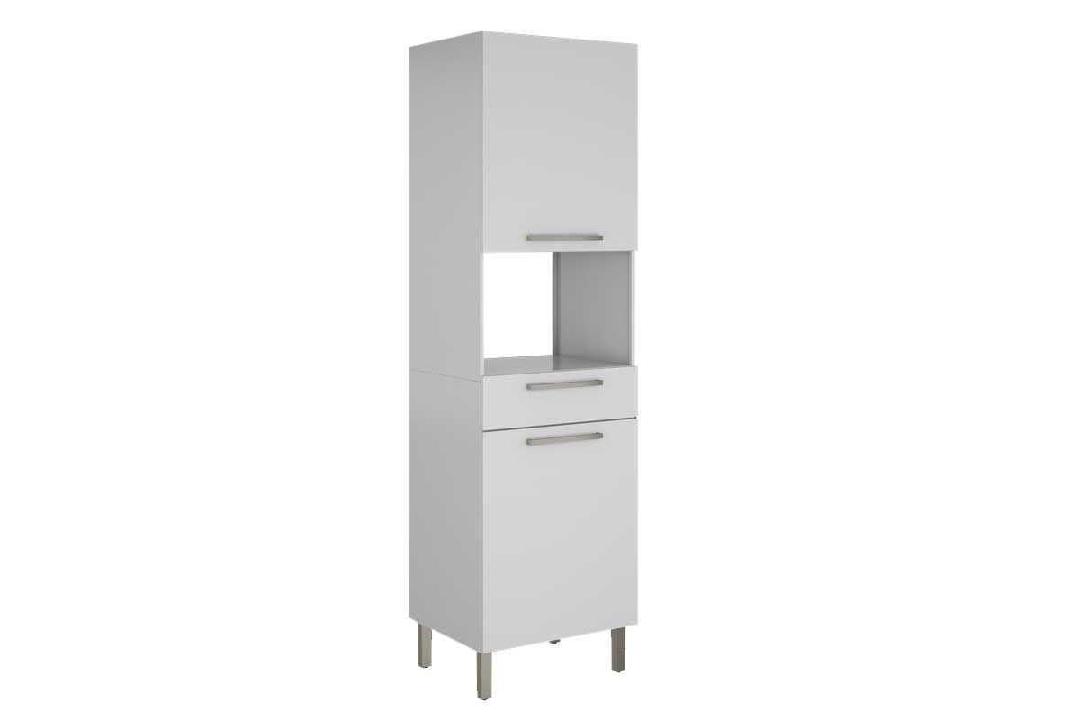 Paneleiro de Cozinha Itatiaia Dandara IPLPFNO-60 Aço Torre Quente 2 PortasCor Branco