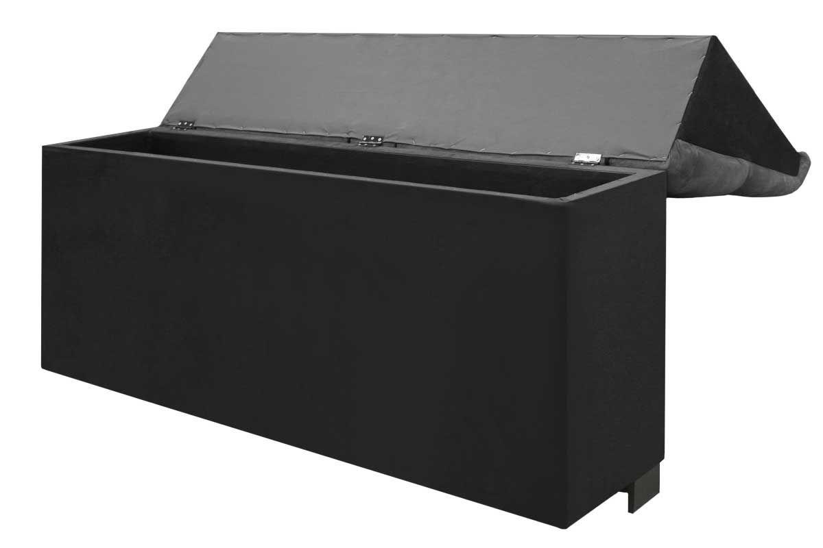 cabeceira box queen size simbal imperador queen size cor nobuck cinza escuro c nobuck negro. Black Bedroom Furniture Sets. Home Design Ideas