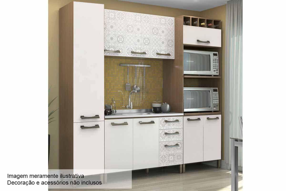 Cozinha Completa Kappesberg Sense c/ 4 Peças CZ48 s/ Pia