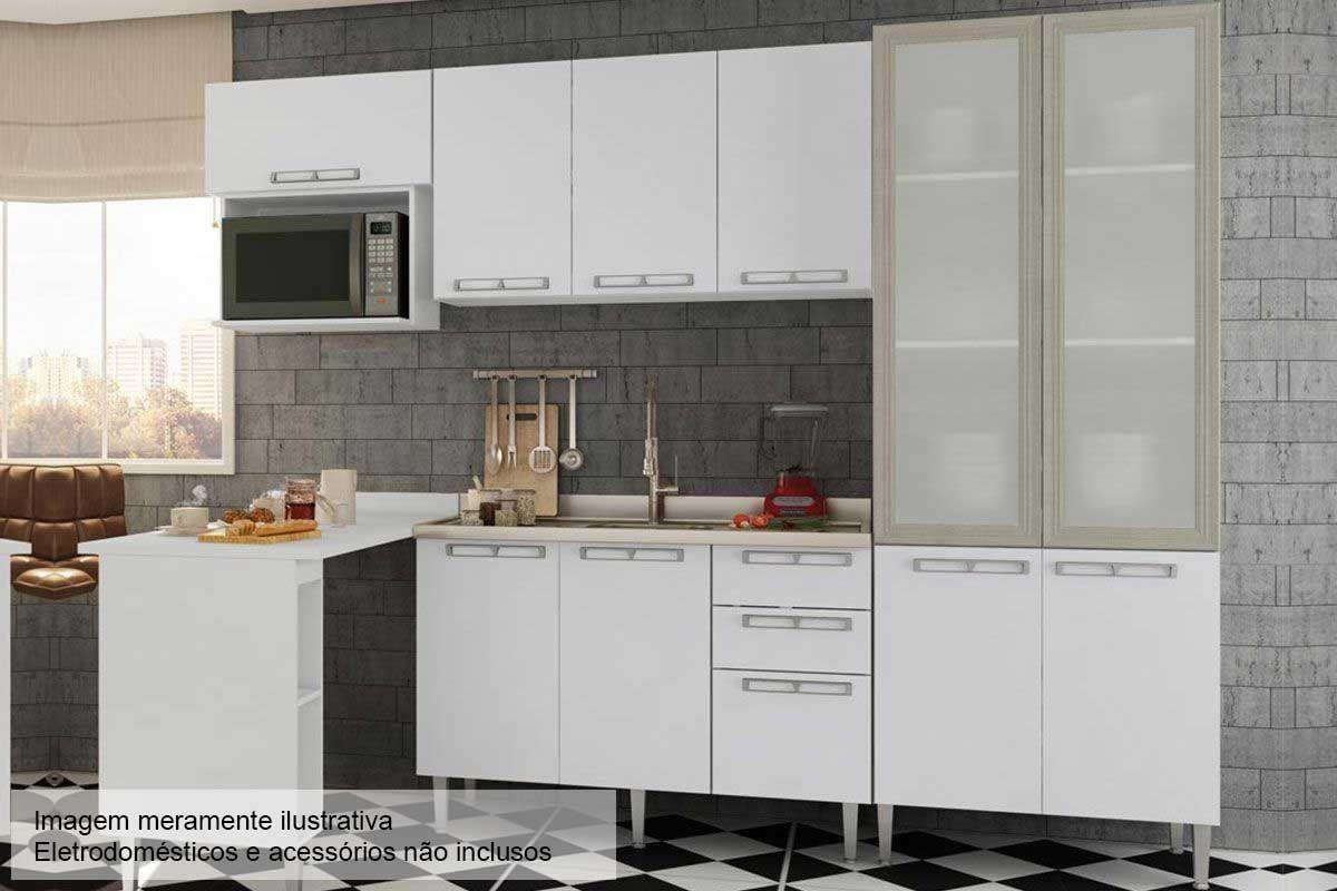 Cozinha Completa Art In M Veis Mia Coccina C 6 Pe As Cz53 S Pia Na