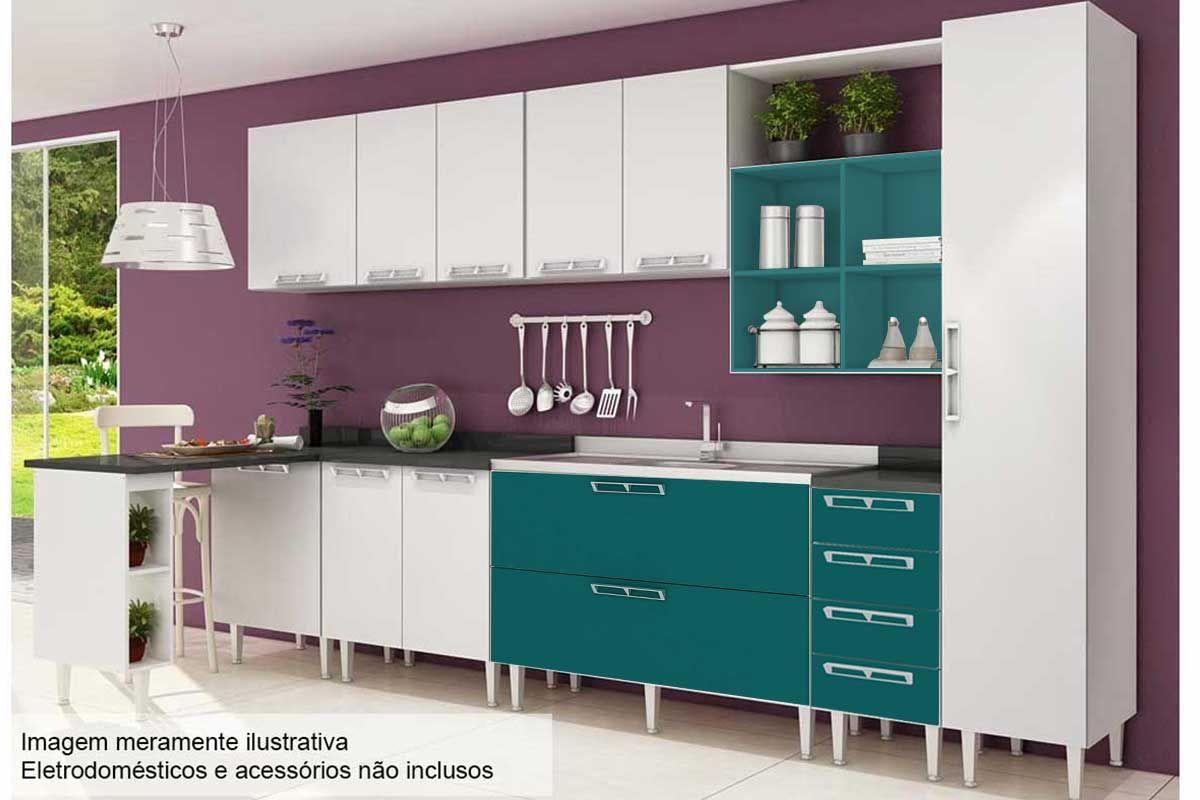 Cozinha Completa Art In M Veis Mia Coccina C 14 Pe As Cz56 S Pia