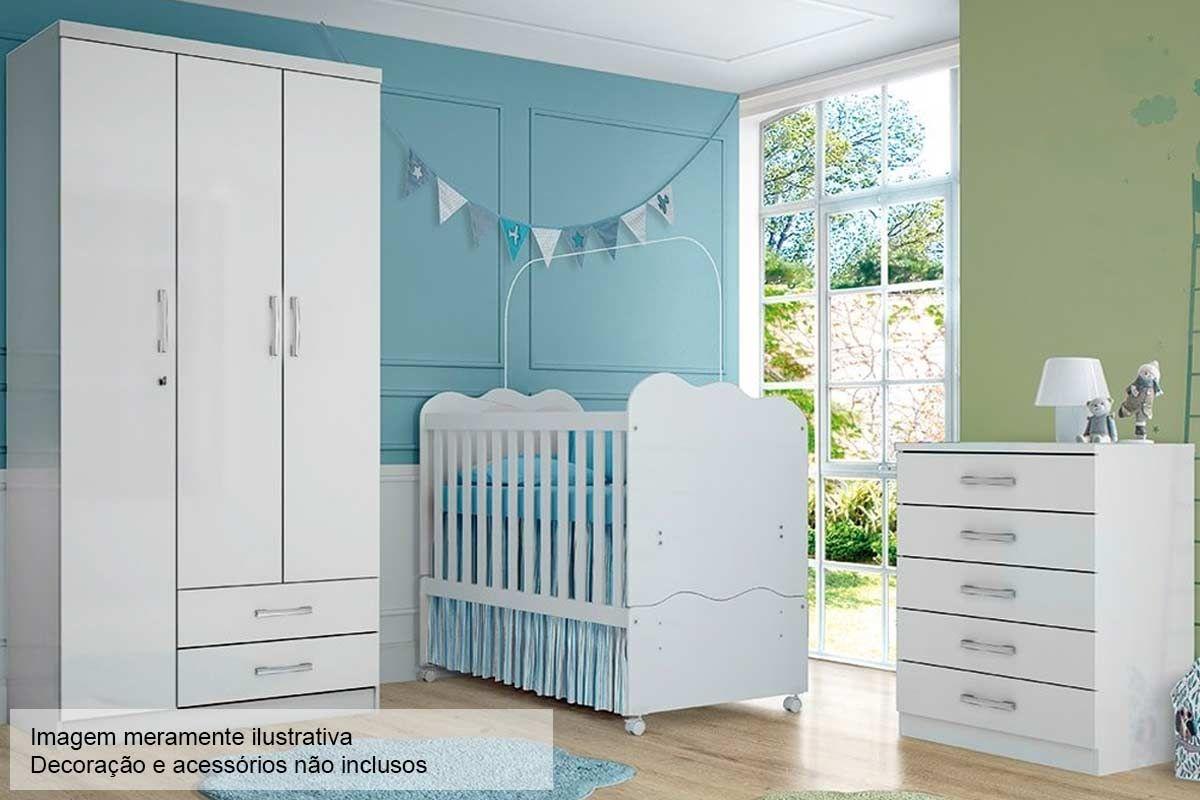 Quarto Infantil (Bebê) Completo Henn Açaí QI23