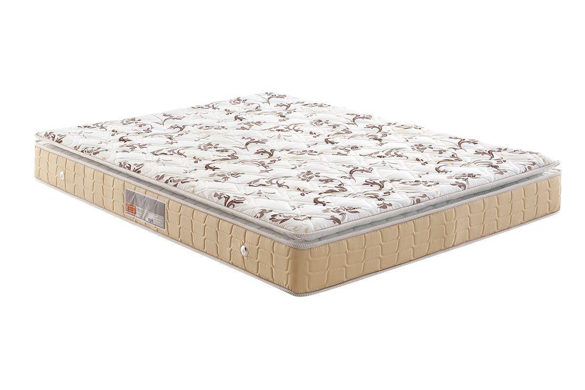 Colchão Anjos Espuma D28 Confort PillowColchão Casal - 1,38x1,88x0,24 - Sem Cama Box