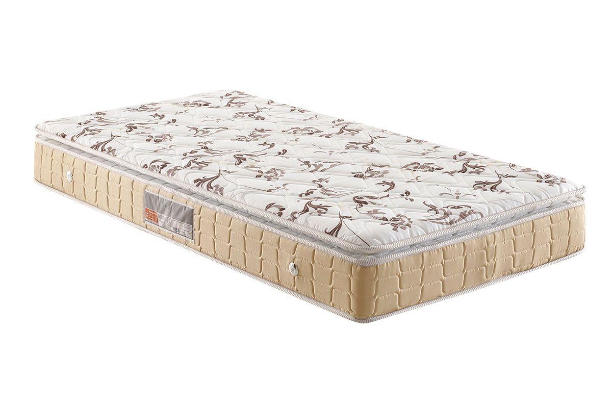 Colchão Anjos Espuma D28 Confort PillowColchão Solteiro - 0,88x1,88x0,24 - Sem Cama Box