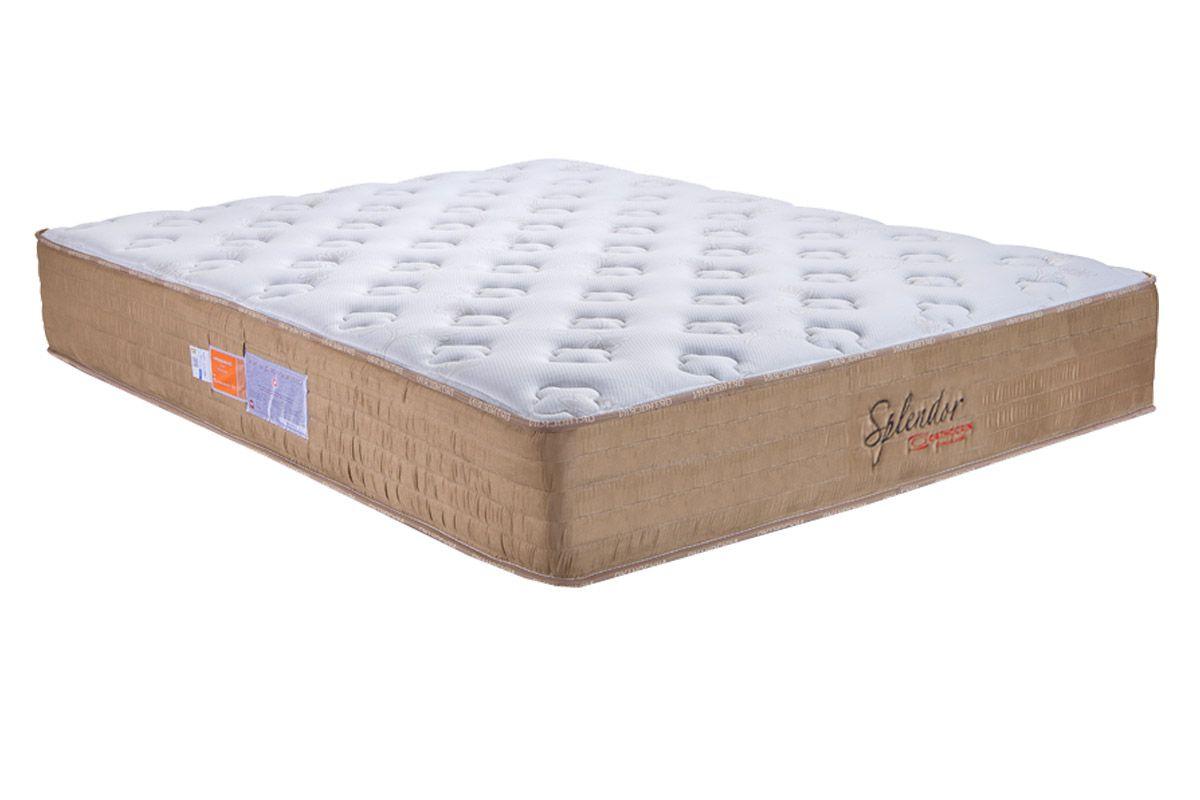 Colchão Orthocrin Molas Pocket Splendor Pró Saúde- Sob MedidaColchão Queen Size - 1,58x1,98x0,30 - Sem Cama Box