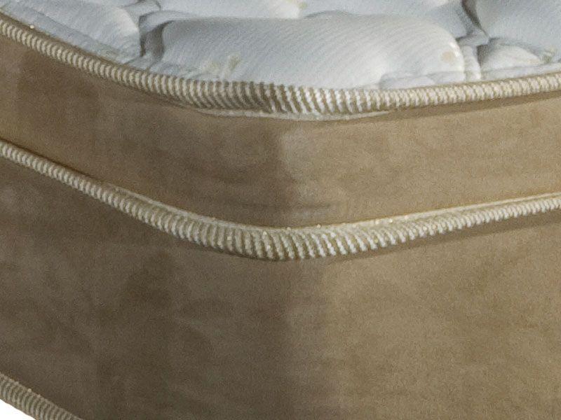 Colchão Herval de Molas Pocket Safira Suede Plus Pillow Top - Colchão Herval