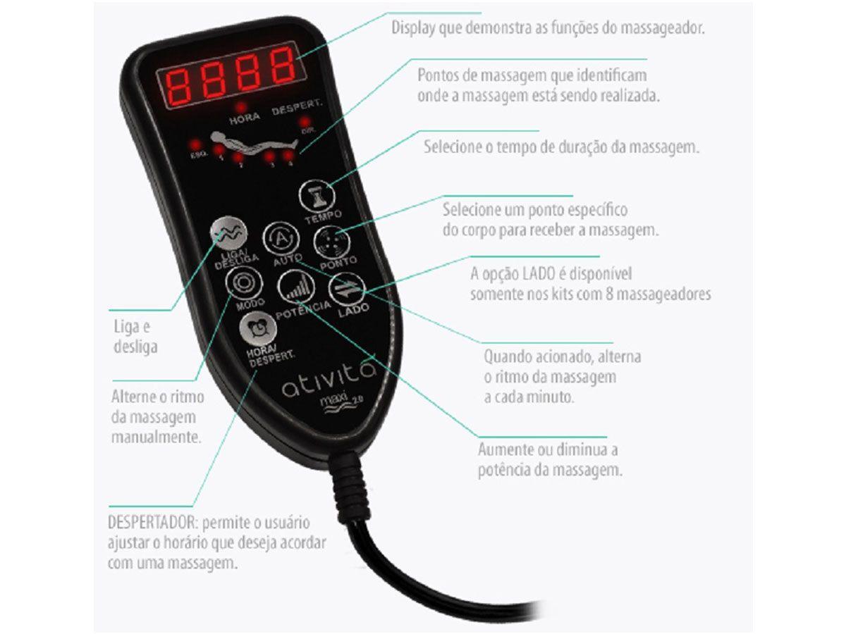 Colchão Anjos Pocket Commodite  c/ Massagem Vibroterapêutica