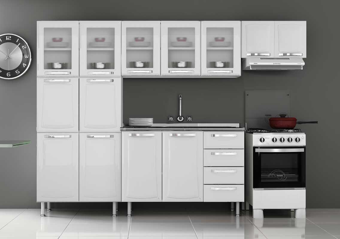 Cozinha Completa Itatiaia Itanew Aço COZ 04 NG