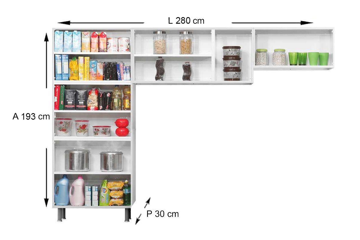 Cozinha Completa Itatiaia Premium COZ 04 NG Aço