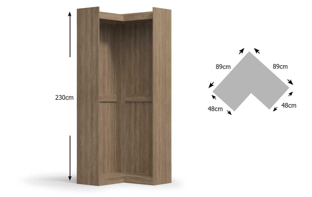 Nicho de Canto Kappesberg Closet F563 (Componível)