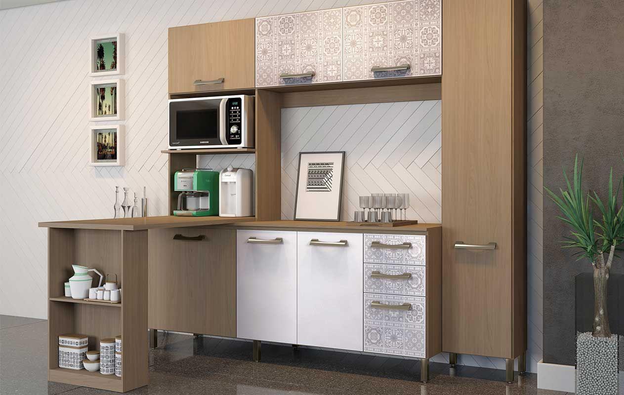 Bancada de Cozinha Kappesberg E781 p/ (Kit Cozinha Compacta E780) #846647 1263 800