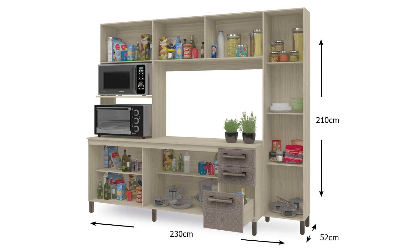 Kit de Cozinha Kappesberg E780 Compacta